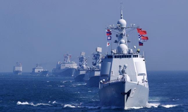 中方采取措施警告日本?军舰出动靠近对马岛