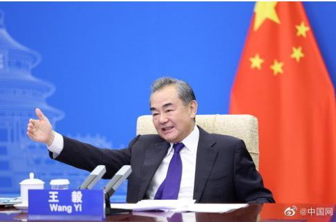 外交部部长王毅称美方应停职满世界围堵中国