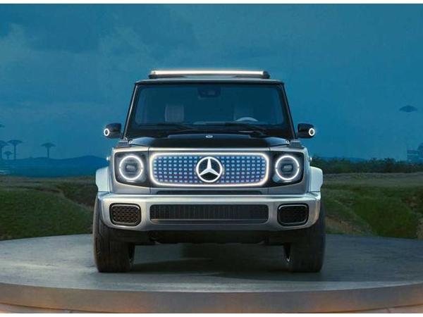 电动奔驰大G正式发布 电动奔驰大G来了奔驰连续发布四款新车