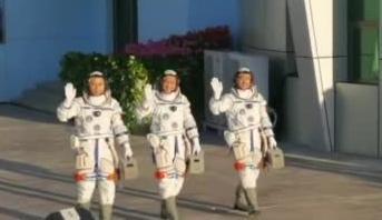 神州12号的第一支vlog来咯,让我们一起跟随航天员步伐去看看他们生活怎么样吧!