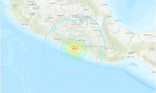 """墨西哥7.1级大地震发生时 为什么天空同时出现""""诡异蓝光""""?"""