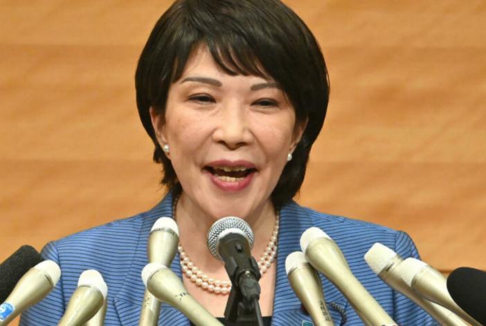 高市早苗宣布参选自民党总裁 力争成为日本首位女首相