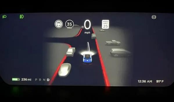 最消息特斯拉发布FSD Beta 10 在弯道方面表现将更加稳定