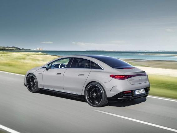 奔驰eqe亮相2021慕尼黑车展 奔驰eqe可能会引领下一代商务轿车的潮流