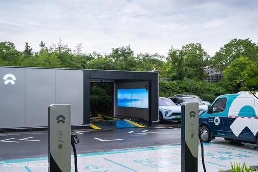 蔚来发布高速换电网络规划 年底换电站运营数量计划要达到700座以上