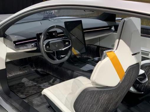 极星Precept量产版首次曝光 定位中大型纯电动轿车