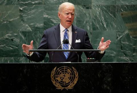 """你信吗!拜登在联合国上煽情演讲""""不寻求新冷战"""""""