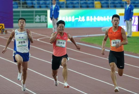 苏炳添的最后一届全运会 四届全运会终圆冠军