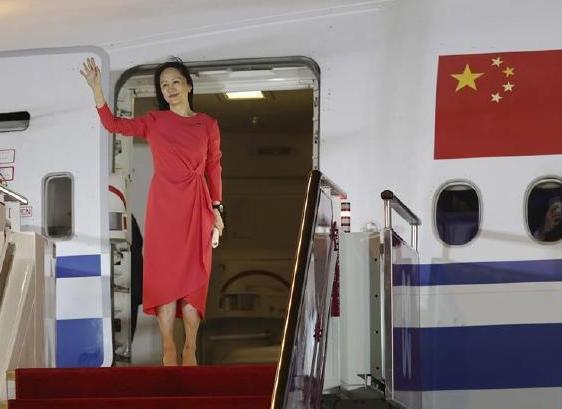 孟晚舟已入住酒店隔离! 孟晚舟乘坐中国包机顺利回国!