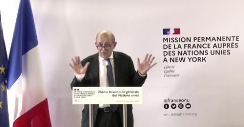 法国驻美大使已返回华盛顿,撒娇似抗议,法美关系尚未走出危机……
