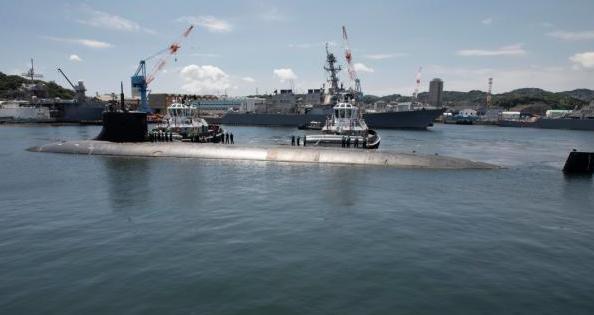 美国核潜艇在南海撞上不明物体 美国核潜艇在南海撞上不明物体多人受伤