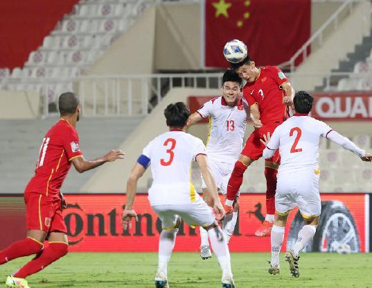 国足3比2越南武磊将绝杀归功队友 武磊将绝杀归功队友:没碰到球