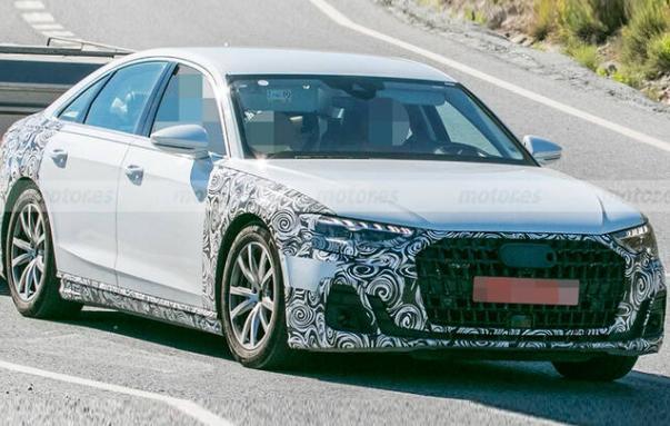 新款奥迪A8曝光头尾变化不小 新款奥迪A8能否与奔驰S级一战?