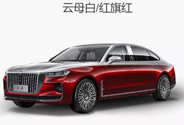 红旗H9+太和版官图发布 车长超过5.3米超奔驰S级