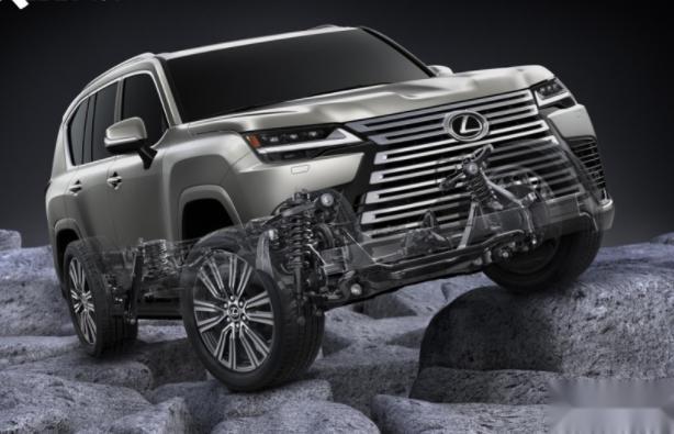 全新雷克萨斯LX600配置解析 提供四座版搭载3.5升V6双涡轮增压发动机