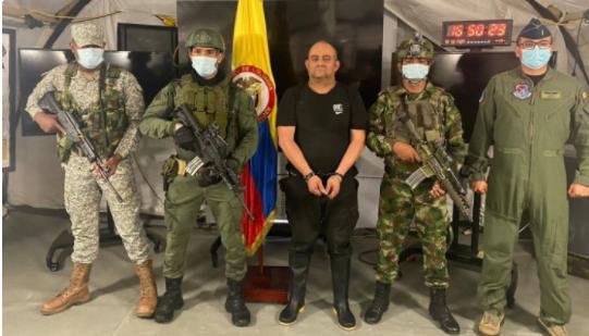哥伦比亚头号毒枭落网现场曝光 500兵力破8层防线合力围捕