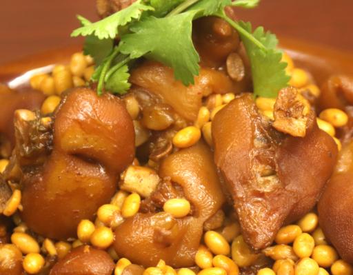 黄豆猪蹄的正确做法 ?经典的黄豆猪蹄,做出来入味不油腻,简单易学