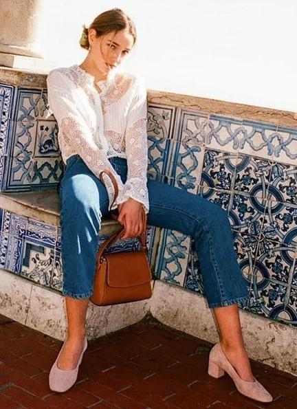 """年初春超流行的""""奶奶鞋"""",時髦又舒適,各位小姐姐該入手了"""