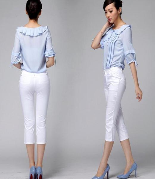 大龄女性穿裤装更显气质 这样搭配既显瘦又显腿长