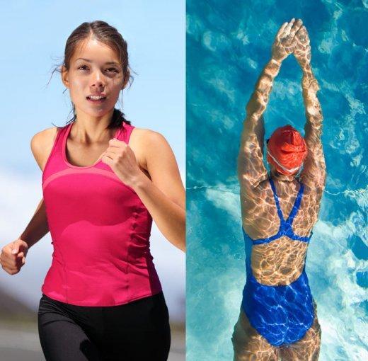游泳跑步哪个减肥效果好?我们应怎样选择?