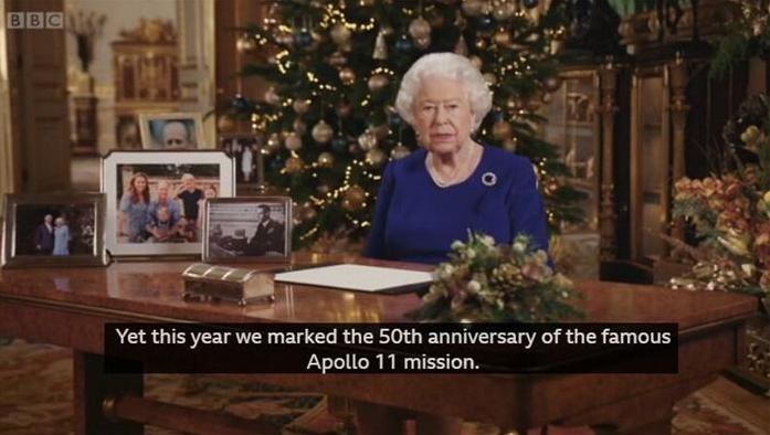 圣诞节来临!英国女王圣诞致辞 2019相当坎坷