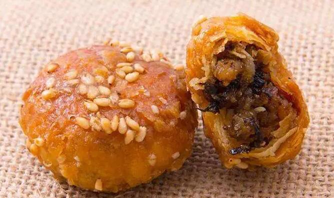 义乌红糖酥饼,口感酥脆,咸甜不腻