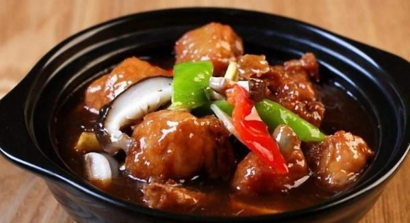 黄焖鸡配方与烹制方法