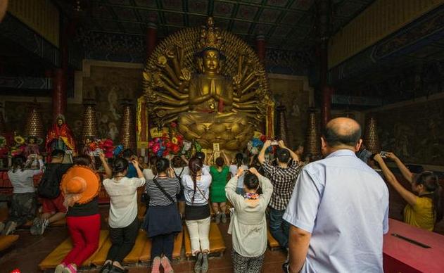 青岩寺-每年高考后的祈福圣地